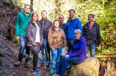 Die Improgruppe Regiestent im Hochschwarzwald